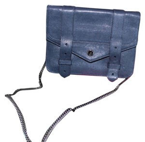 Proenza Schouler Ps1 Woc Wallet On Chain Chain Ps1 Blue Cross Body Bag