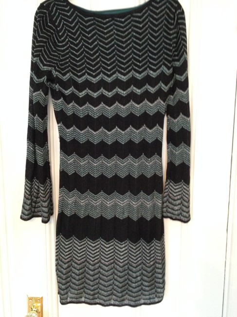 Laundry by Shelli Segal short dress Black/blue on Tradesy