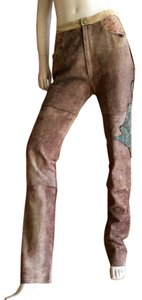 Roberto Cavalli Straight Pants brown