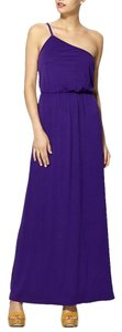Purple Maxi Dress by Hive & Honey Maxi One Shoulder