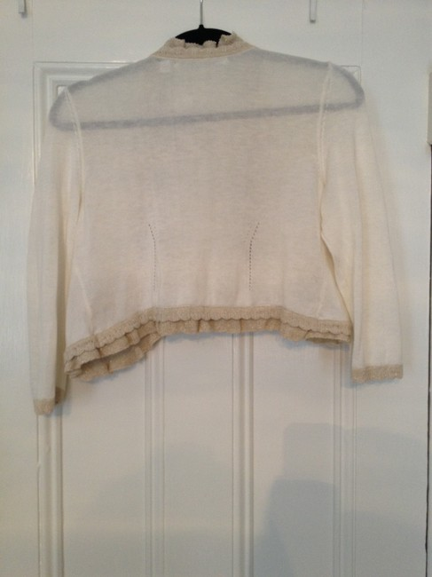 Anthropologie Summer Top cream