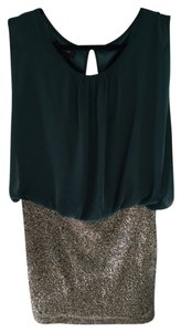 MM Couture Holiday Christmas New Years Party Sequin Dress