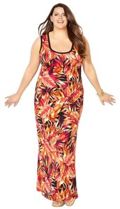 Fall Maxi Dress by Avenue Maxi Plus-size Floral