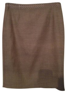 Elie Tahari Pencil Skirt Brown
