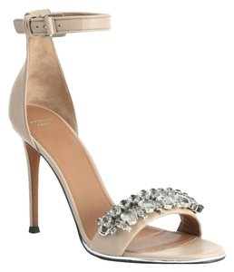 Givenchy Monia Crystal Tan Sandals
