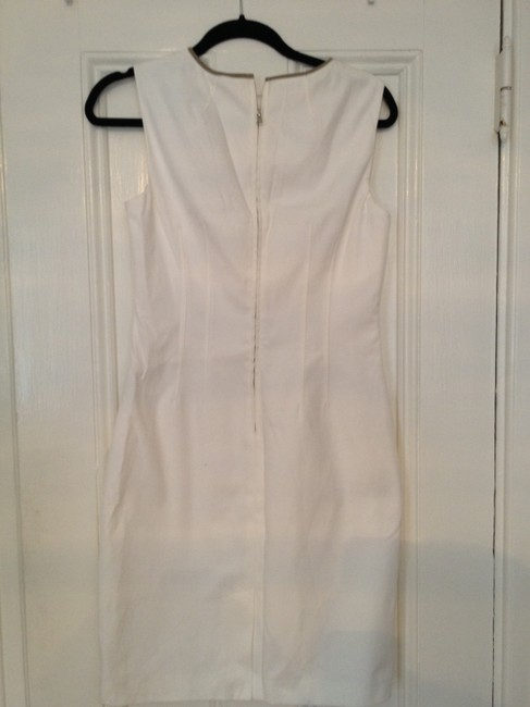 Elie Tahari short dress White Sundress Summer Cocktail Party on Tradesy