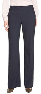 Classiques Entier Wool Stretch Straight Suiting Straight Pants BLACK