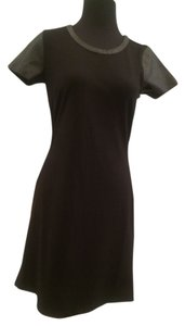 The Letter short dress Black on Tradesy