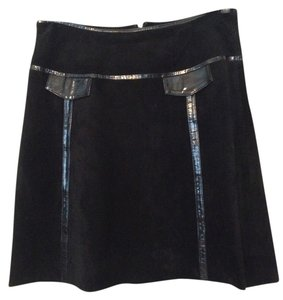 Skinz by Runway Party Evening Cocktail Mini Skirt Black