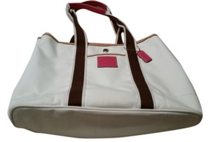 Coach Tote in White