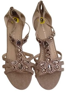 Adrienne Vittadini Neutral Sandals