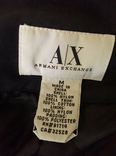 A|X Armani Exchange Motorcycle Jacket Image 5