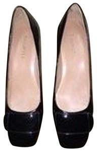 Talbots Patent Leather Like New Office Black Patent Pumps