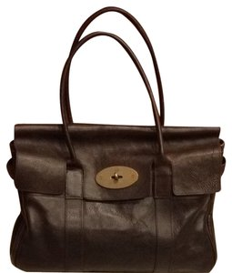 Mulberry Luxury Classic Satchel in Chocolate brown