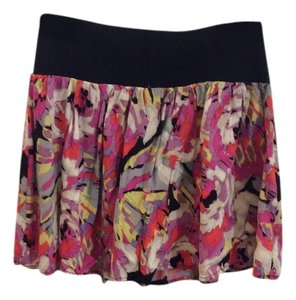 Lily White Skirt Floral