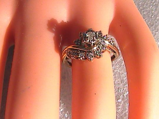 Other 10k Yellow Gold Vintage Diamond Ring Image 1