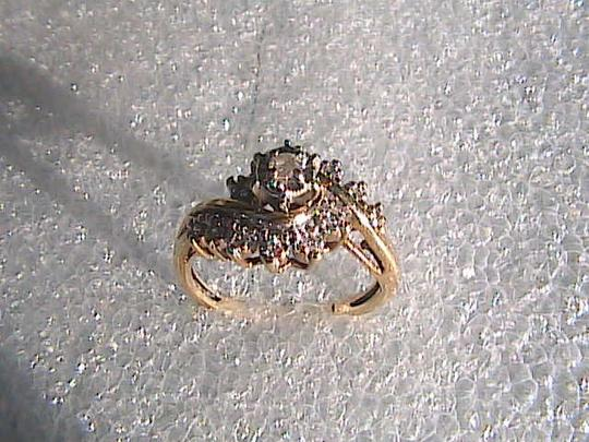 Other 10k Yellow Gold Vintage Diamond Ring Image 3