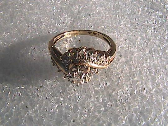 Other 10k Yellow Gold Vintage Diamond Ring Image 7
