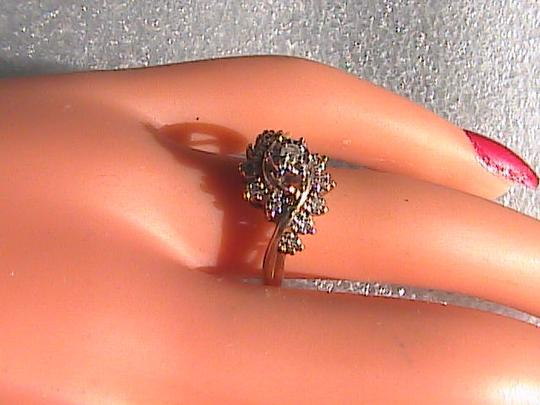 Other 10k Yellow Gold Vintage Diamond Ring Image 8