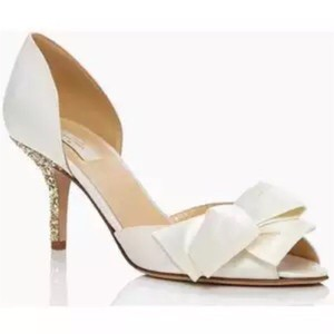 Kate spade wedding shoes on sale up to 90 off at tradesy kate spade ivory pumps size us 8 regular m b junglespirit Images