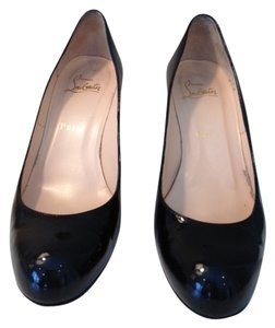 Christian Louboutin Black Patent Leather Pumps