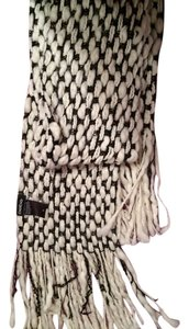 bebe Bebe Soft Black & White Scarf
