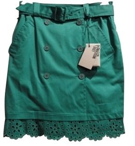 Moschino Mini Skirt Green / turquoise