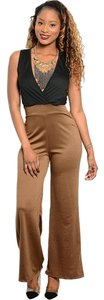 Arden B. Wide Leg Pants Black brown