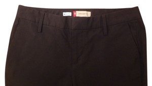 Gap Petite Straight Pants Brown