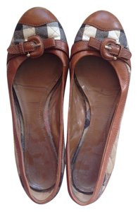 Burberry Brown Flats