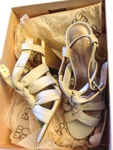 BCBGeneration Natural Nappa Sandals