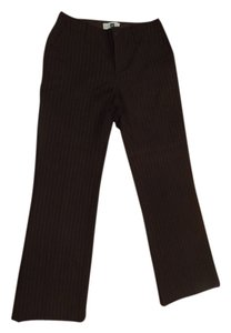 Gap Wear To Work Pinstripe Trouser Pants Brown