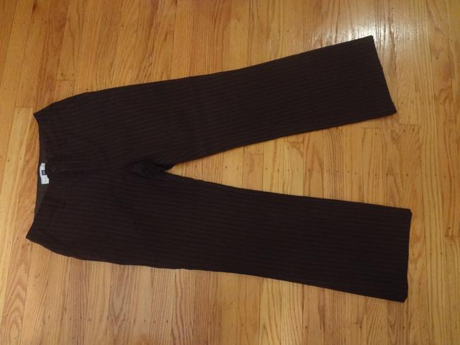 Gap Wear To Work Pinstripe Professional Trouser Pants Brown