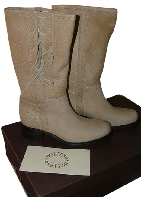 Item - Tan Frontiera Cowgirl Stunning Leather Boots/Booties Size US 7.5 Regular (M, B)