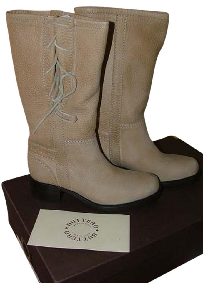 Buttero Tan Frontiera Stunning Cowgirl Stunning Frontiera Leather Boots/Booties a114cd