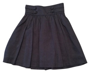 H&M High-waisted Holiday Mini Skirt Black