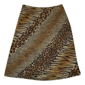 Express Skirt Animal Print