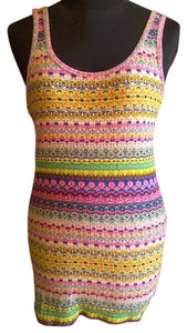 Mossimo Supply Co. Weekend Cotton Long Layering Top multi