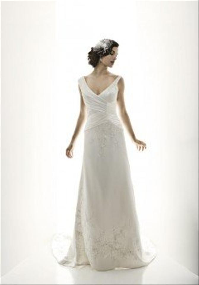Matthew christopher gatsby wedding dress tradesy for Matthew christopher wedding dress prices