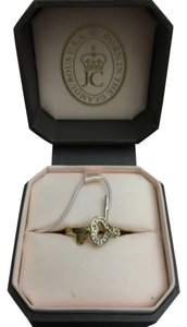 Juicy Couture Authentic Juicy Couture costume jewelry ring - heart and lock design