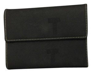 Tod's Authentic Tod's wallet. Faded black exterior, leather interi