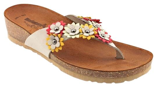 Other Festival Boho Gray Leather Sandals
