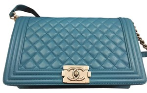 Chanel New Medium Quilted Lambskin Le Boy Shoulder Bag
