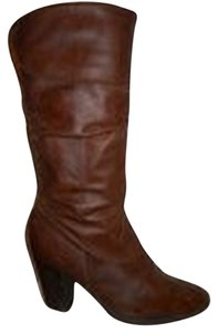 Style & Co Leather brown Boots