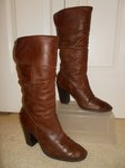 Style & Co Leather brown Boots Image 2