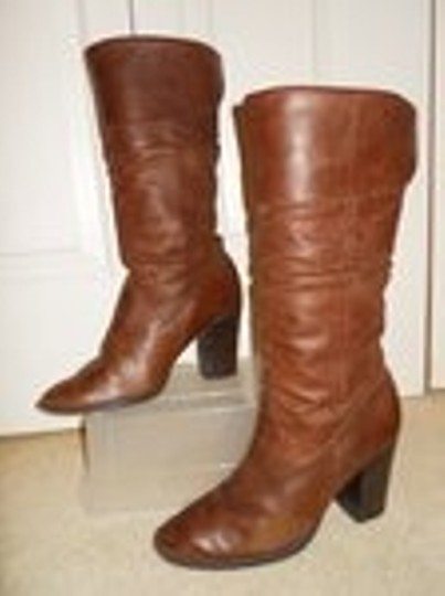 Style & Co Leather brown Boots Image 3