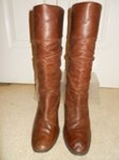 Style & Co Leather brown Boots Image 4