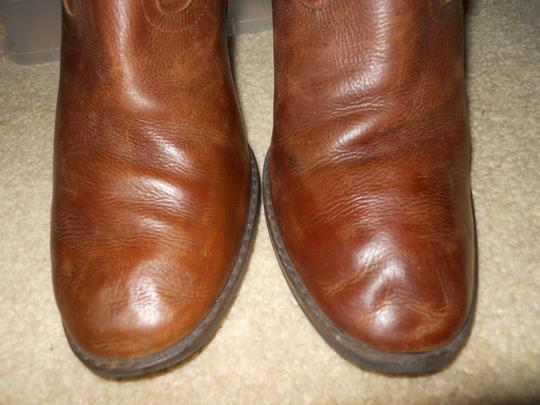 Style & Co Leather brown Boots Image 5