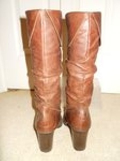 Style & Co Leather brown Boots Image 6
