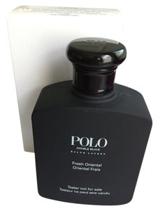 Ralph Lauren New in Box - POLO DOUBLE BLACK by Ralph Lauren - 4.2 OZ Eau de Toilette - Perfume Spray